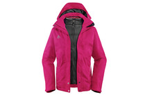 Vaude Women's Vanoise 3in1 Jacket raspberry